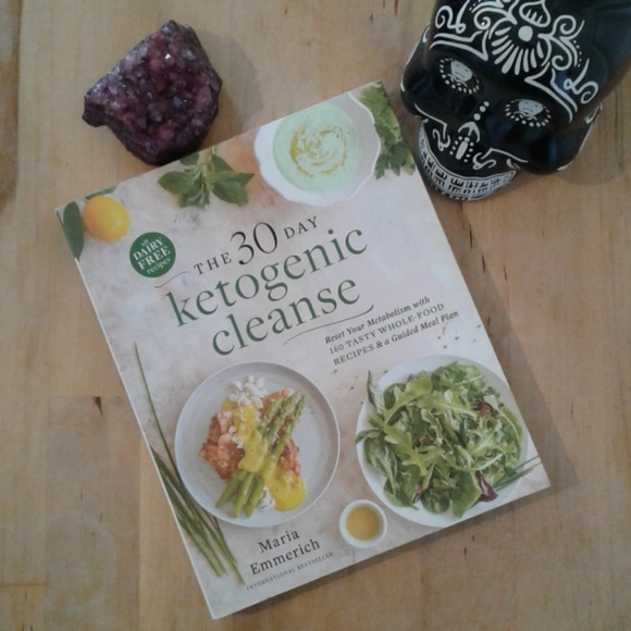 30 day ketogenic cleanse cookbook. Maria emmerich.